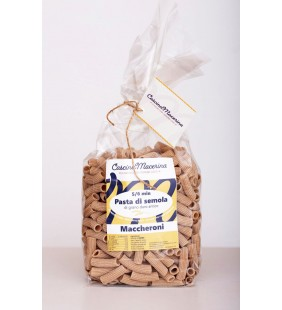 Pasta di semola di grano duro antico - Maccheroni