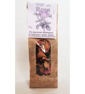 Thè ai petali di rosa