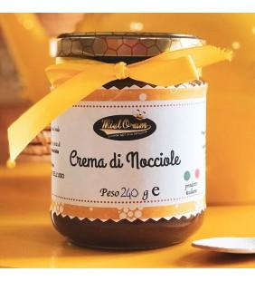 Crema di miele alle nocciole
