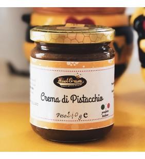 Crema di miele al pistacchio