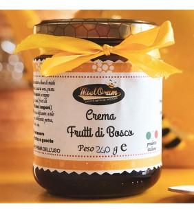 Crema di miele ai frutti di bosco